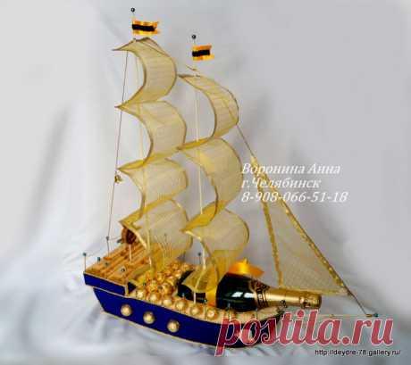 Gallery.ru / Фото #1 - Корабли из конфет в Челябинске и Копейске - Deydre-78