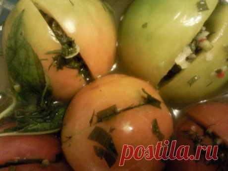 Вкусные зеленые помидоры. | БУДЕТ ВКУСНО!