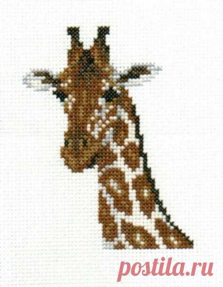 Giraffe counted cross-stitch chart   Etsy