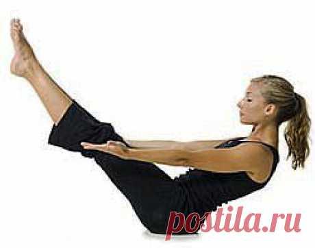 (+1) тема - 6 упражнений для мышц живота | ЗДОРОВЫЙ ОБРАЗ