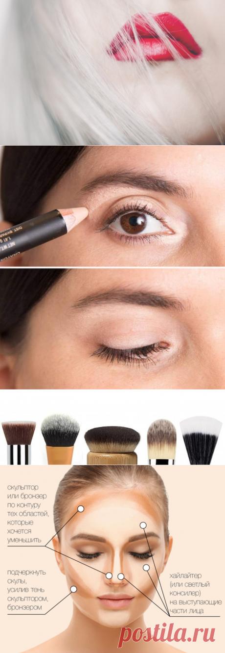 10 советов от визажистов, как сделать красивый макияж - читайте на портале slovesa.in.ua
