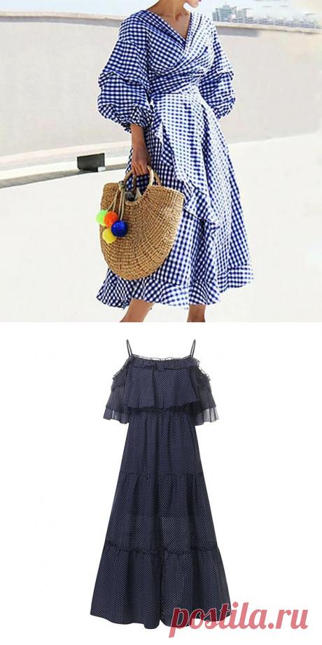 Эффектные летние платья #22   Всё сама   Яндекс Дзен