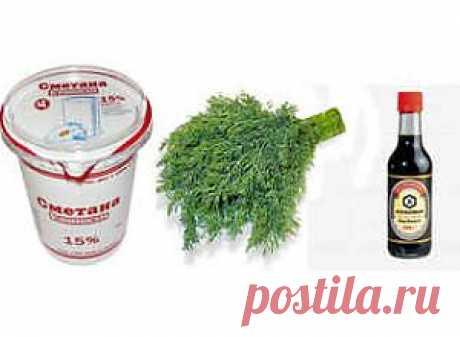 Соус на скорую руку - пошаговый рецепт с фото