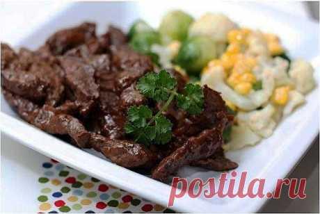 5 рецептов блюд из говядины.
