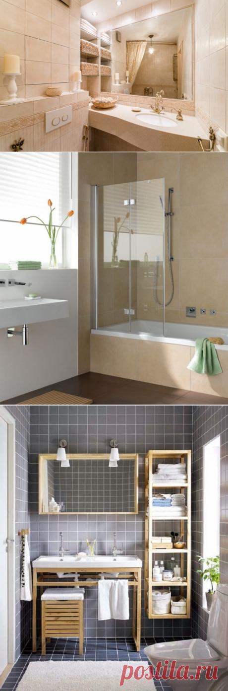 Как оформить ванную, чтобы меньше убираться: 8 советов и 4 лайфхака