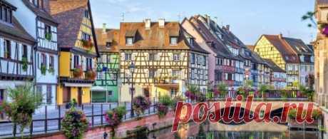Сказочные городки и деревни в разных уголках мира