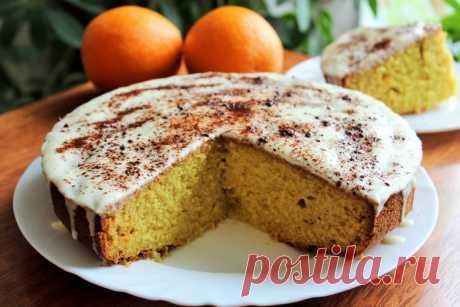 Апельсиновый пирог - Простые рецепты Овкусе.ру