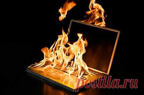 Почему греется ноутбук: жаропонижающие советы