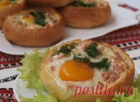 Закусочные булочки - быстрый и сытный завтрак