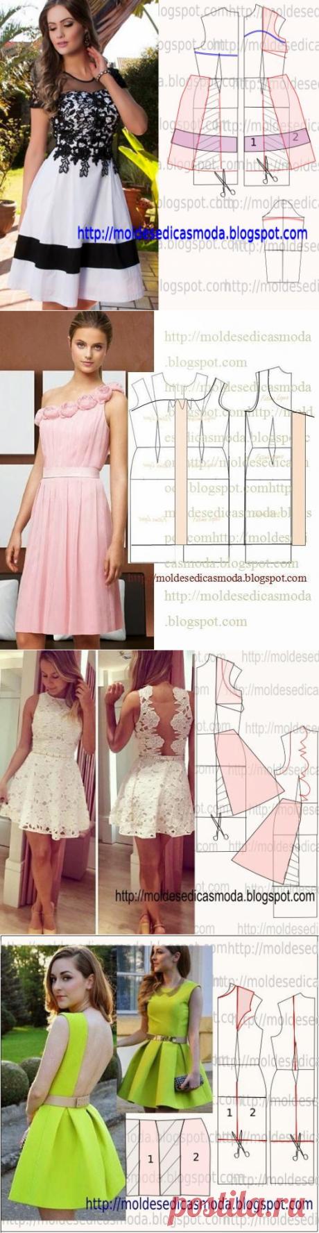 Прекрасные летние платья — Сделай сам, идеи для творчества - DIY Ideas