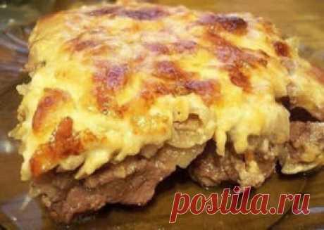 Мясо в горчичном маринаде, готовлю вместо мяса по-французски