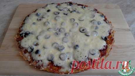 Пицца на картофельной основе Кулинарный рецепт