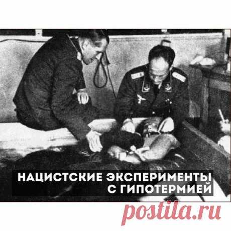 Нацистские эксперименты с гипотермией / История цивилизаций!