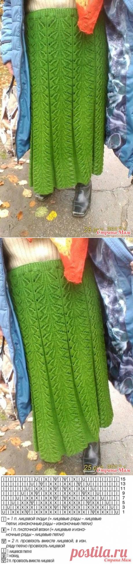 . Очень красивая юбка, прошу помощи в поиске схемы - Вязание - Страна Мам