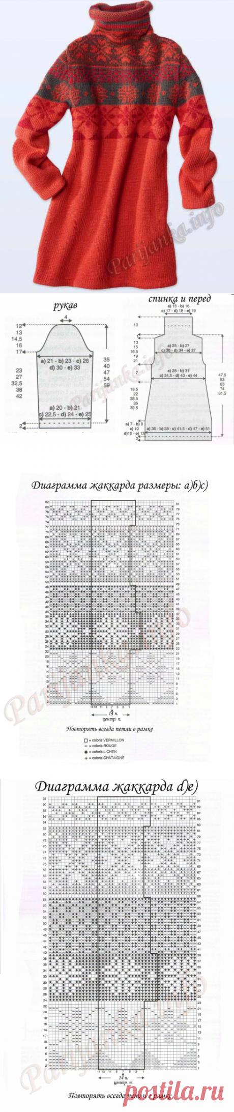 Платье (д) 12*81 Phildar