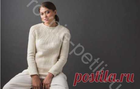 Пуловер Undulating Lines