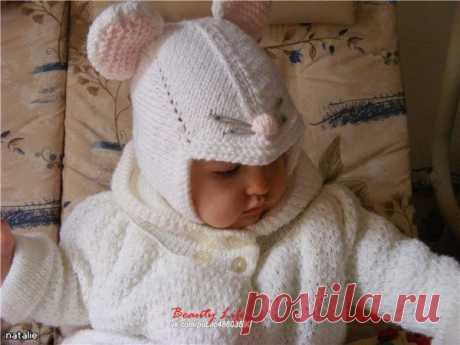 Детская шапочка мышка / Необычные поделки