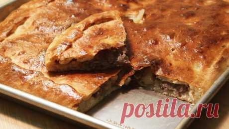 Мясной пирог на кефире с фаршем: рецепты . Милая Я