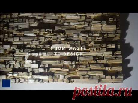 Making Pallet Wood Wall Art [71] - YouTube
