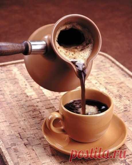 Como cocer correctamente el café en el turco.