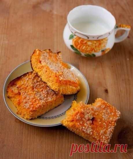 El tostado caseoso con la zanahoria (100 gr - 77 kkal)