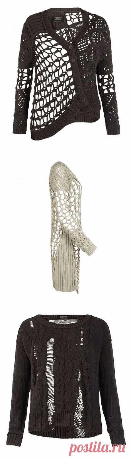 Жакеты и кардиган от AllSaints в стиле винтаж / Вязание / Модный сайт о стильной переделке одежды и интерьера