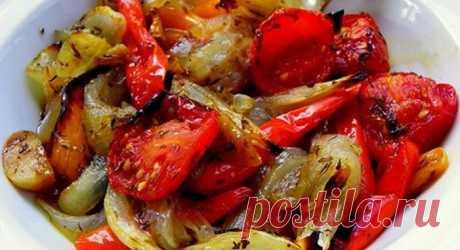 Овощи, запечённые в маринаде: фантастически вкусно! ...