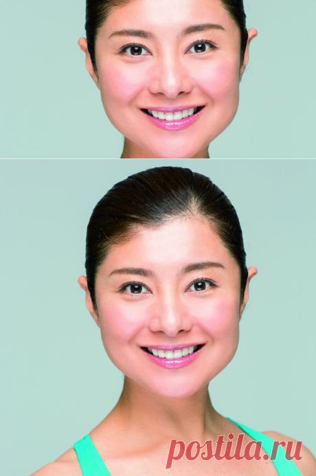 Мамада Йошико: «Рассказываю, как подтянуть лицо, тратя 10 секунд в день! Встань перед зеркалом…». Экспресс-подтяжка контуров и профилактика двойного подбородка. - Советы и Рецепты
