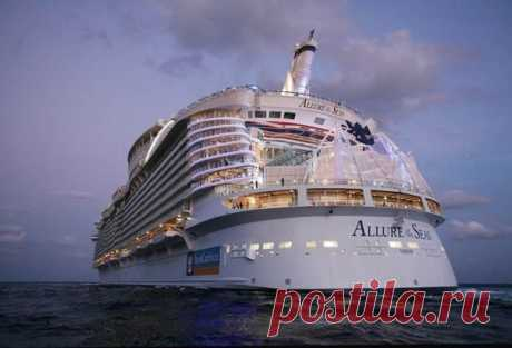The biggest cruise liner - we Travel together