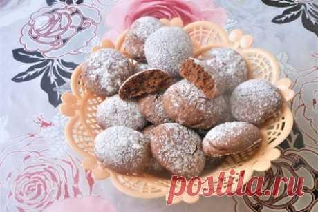 Мягкое шоколадное печенье на воде – пошаговый рецепт с фотографиями