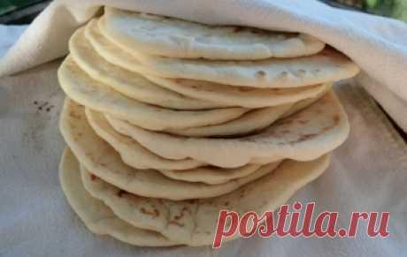 Лепешки на кефире / Лепешки / TVCook: пошаговые рецепты с фото