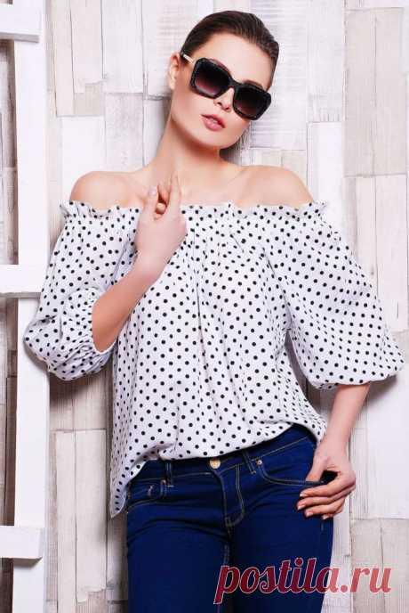 Шьем блузку-крестьянку: моделирование, идеи