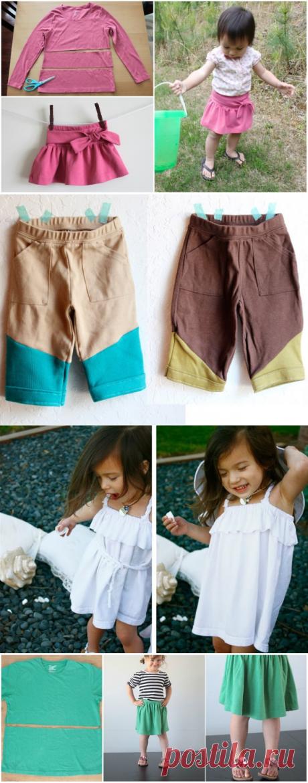 12 способов обновить детский гардероб — HandMade
