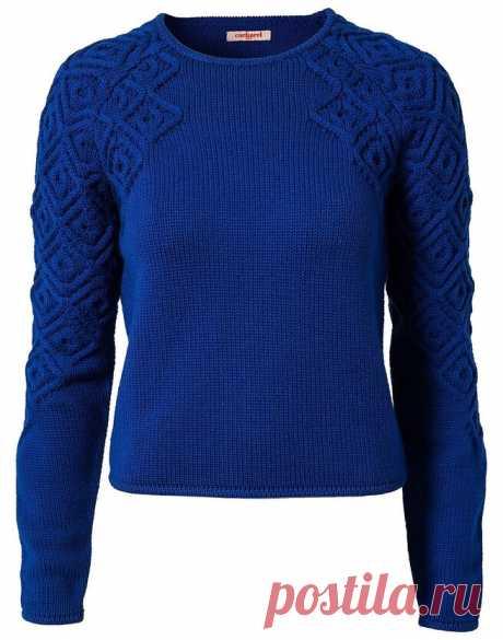 Пуловер Французская мозаика от Кашарель