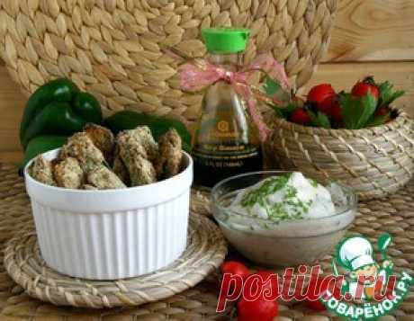 Пикантные кабачковые дольки в хрустящей панировке - кулинарный рецепт