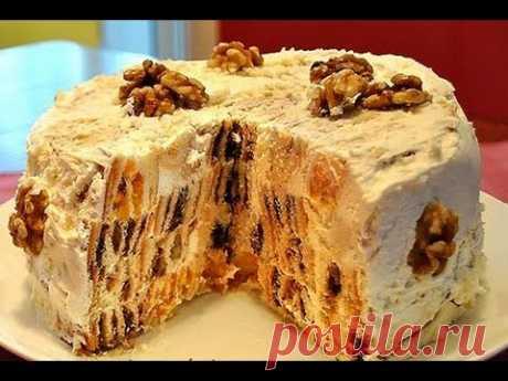 Торт Трухлявый пень Видео рецепты тортов на ютюбе