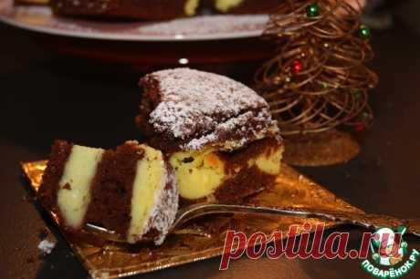 Чизкейк на бисквитной подушке - нежно, ароматно, шоколадно, cладко, но не приторно!