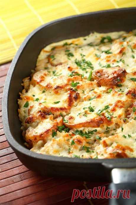 Безумно вкусная и простая картофельная запеканка - Вкусно - полезно - медиаплатформа МирТесен