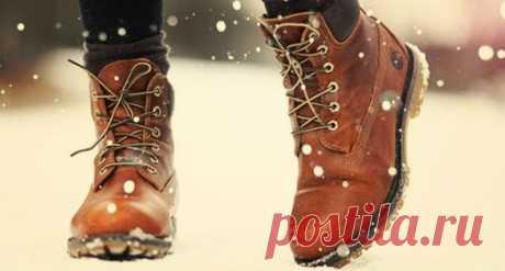 Простой способ - и ноги зимой тёплые
