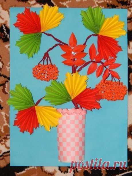 Объемные поделки из цветной бумаги. — Поделки с детьми