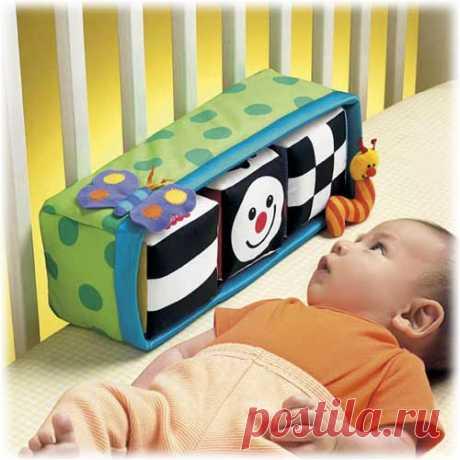 Мама шьет » Развивающие игрушки для ребенка от 0 до 3 месяцев. Что можно сделать самому?