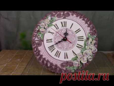 Часы в винтажном стиле ХоббиМаркет - YouTube