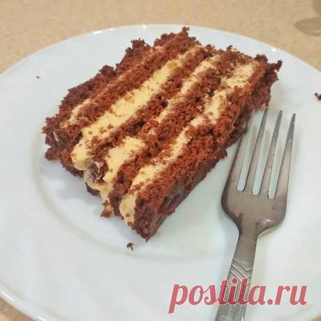 Торт за 5 минут: получается вкуснее всех остальных   Манник   Яндекс Дзен