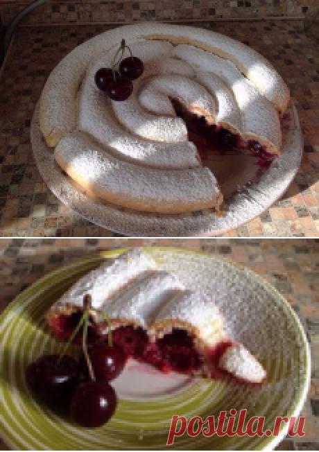 Cherry Snail pie