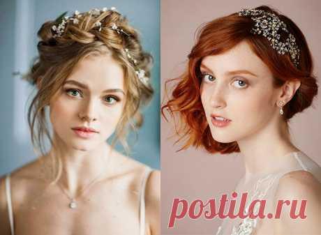 Свадебные прически на средние волосы: фото и советы Свадебные прически на средние волосы: подборка фото и главные советы стилистов.