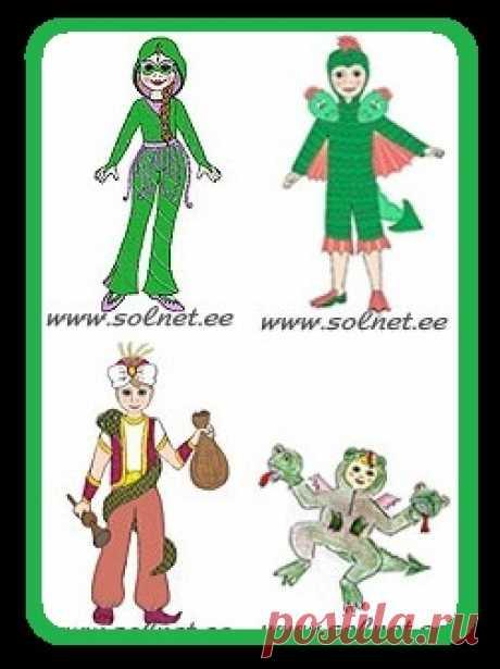 Каталог Новогодних костюмов для детей.