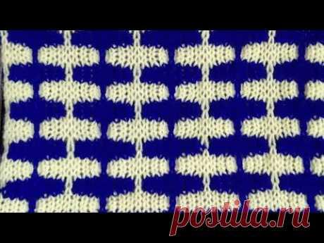 #TwoColourDesign # Sweater design in knitting machine # সোয়েটার ডিজাইন