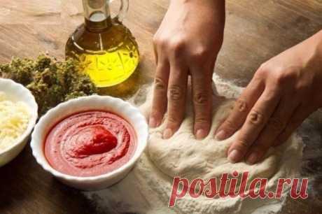 6 секретов идеальной пиццы и 4 рецепта вкусной начинки — Полезные советы