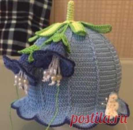 Мастер-класс по вязанию шляпки-колокольчика крючком