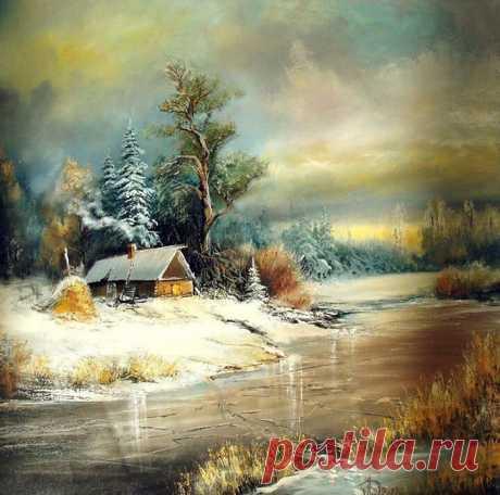 Творчество современного художника Александра Леднева